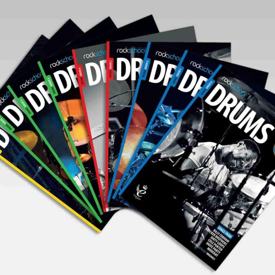 Drum grade books