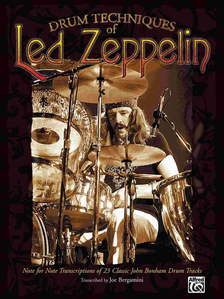 Led Zeppelin drum book