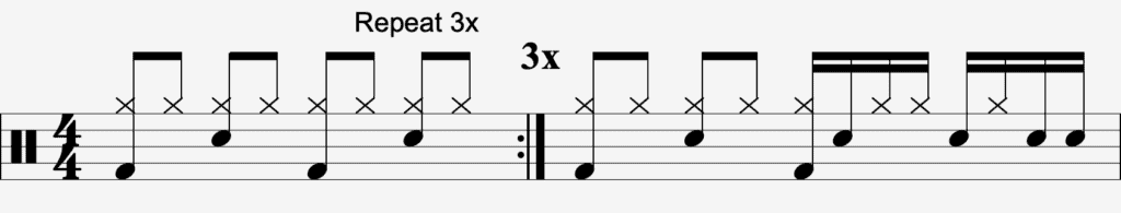 Second Drum Fill To Learn