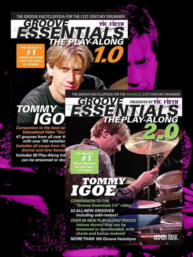 Tommy Igoe Drum Books