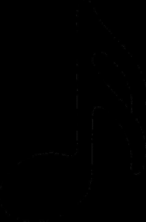 semiquaver used in drum notation