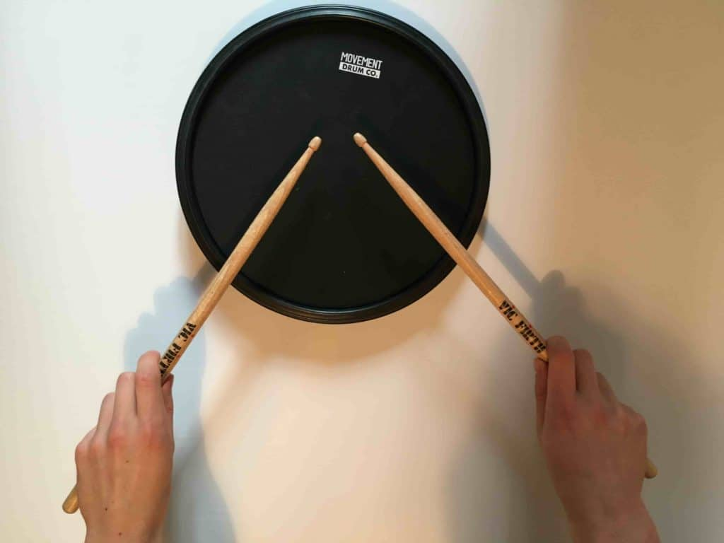 German grip - How to learn drums for beginners