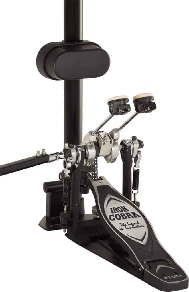 A Bass Drum Pad From An Electronic Drum Kit